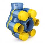 Unité de ventilation simle flux hygro-réglable (hygroB) HygrolixBBC